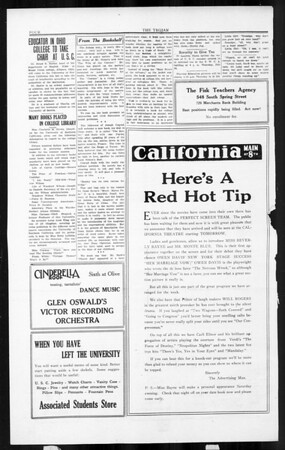The Southern California Trojan, Vol. 3, No. 7, July 22, 1924