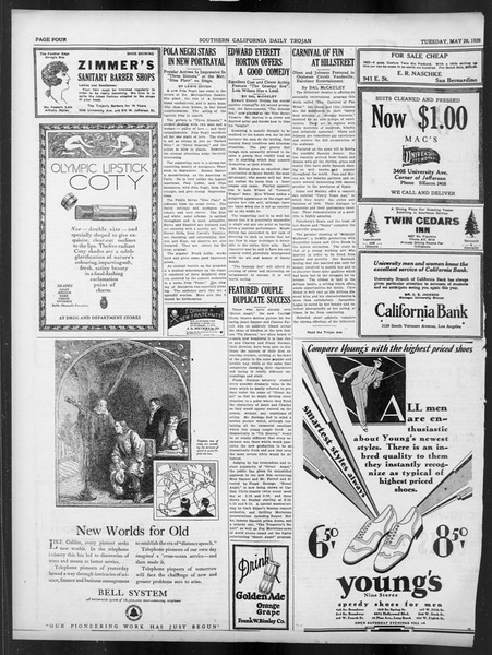 Daily Trojan, Vol. 19, No. 129, May 08, 1928