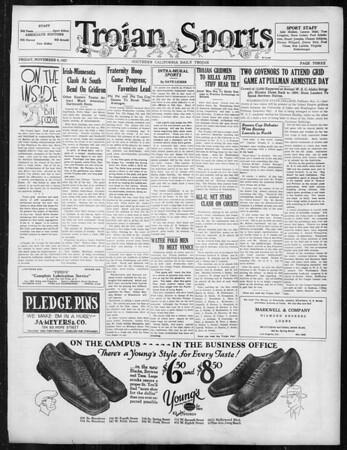 Daily Trojan, Vol. 19, No. 35, November 04, 1927