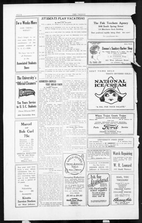 The Southern California Trojan, Vol. 3, No. 11, August 05, 1924