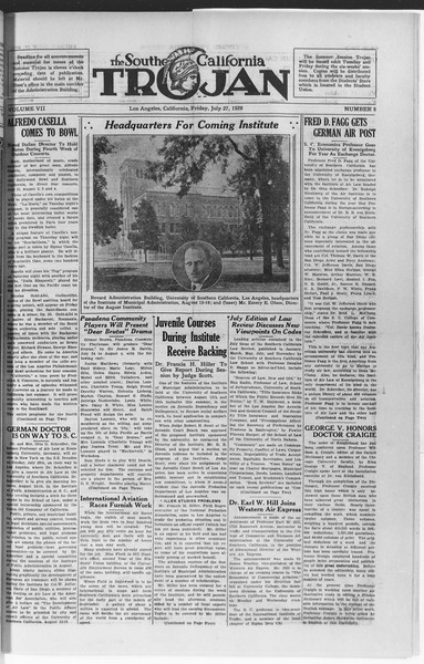 Trojan, Vol. 7, No. 8, July 27, 1928
