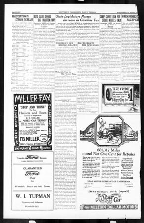 Daily Trojan, Vol. 16, No. 94, April 29, 1925