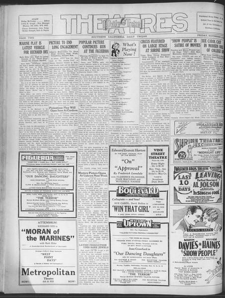 Daily Trojan, Vol. 20, No. 41, November 09, 1928