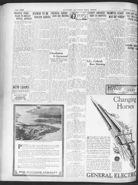 Daily Trojan, Vol. 20, No. 95, March 02, 1929
