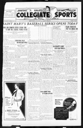 Daily Trojan, Vol. 16, No. 95, April 30, 1925