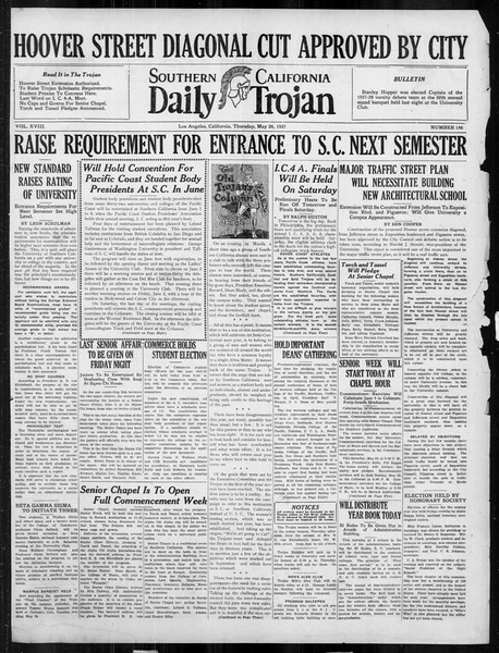 Daily Trojan, Vol. 18, No. 146, May 26, 1927