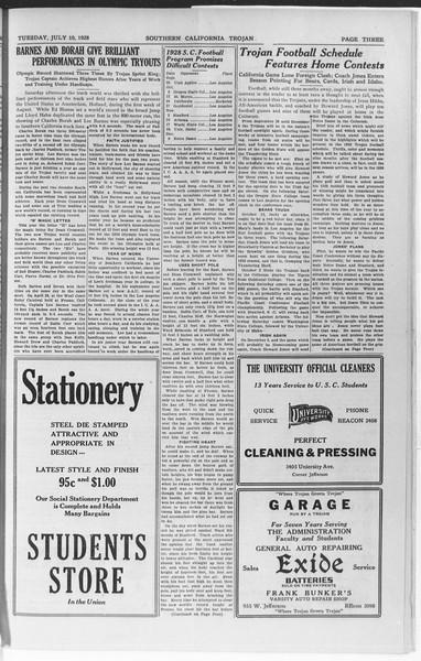 Trojan, Vol. 7, No. 3, July 10, 1928