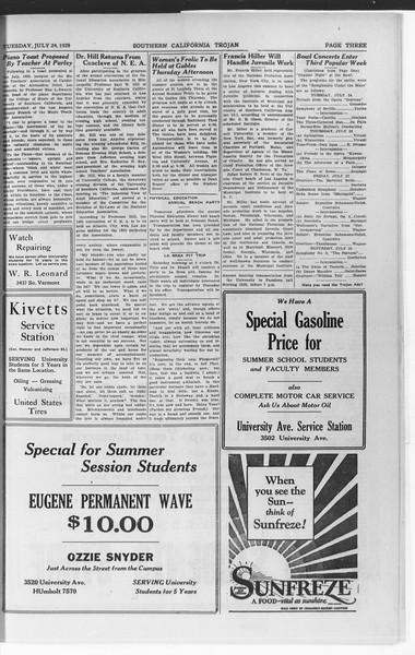 Trojan, Vol. 7, No. 7, July 24, 1928