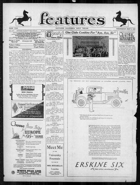 Daily Trojan, Vol. 18, No. 130, May 04, 1927