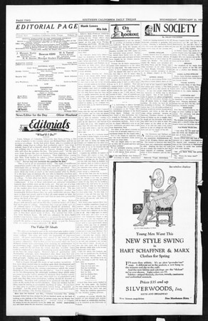 Daily Trojan, Vol. 16, No. 56, February 25, 1925