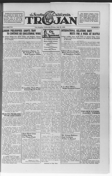 Trojan, Vol. 7, No. 6, July 20, 1928