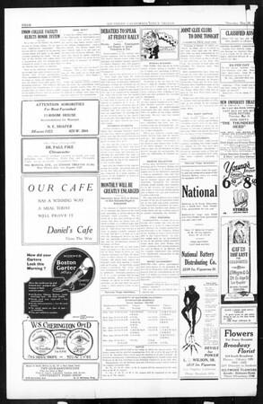 Daily Trojan, Vol. 16, No. 115, May 28, 1925