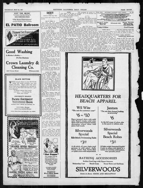 Daily Trojan, Vol. 18, No. 146, May 26, 1927