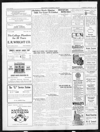 The Southern California Trojan, Vol. 16, No. 39, January 13, 1925