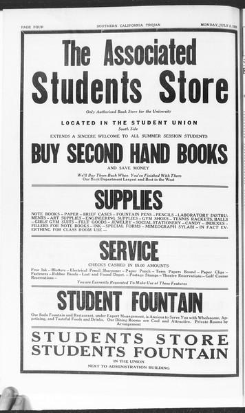 Trojan, Vol. 7, No. 1, July 02, 1928