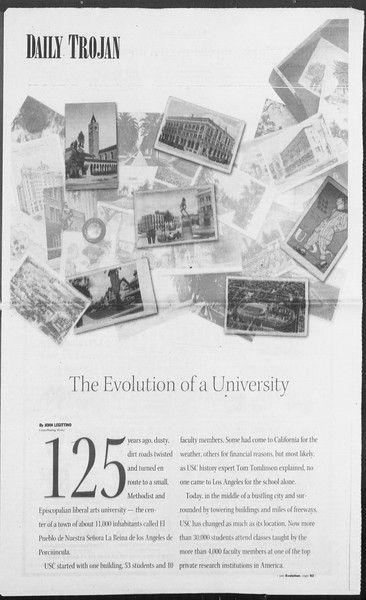 Daily Trojan, Vol. 156, No. 61, November 17, 2005