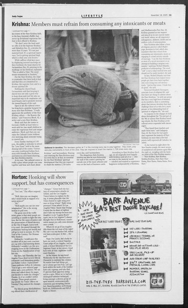 Daily Trojan, Vol. 156, No. 62, November 18, 2005