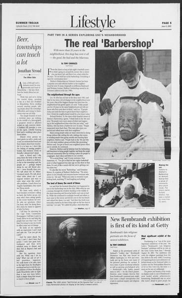 Summer Trojan, Vol. 155, No. 4, June 08, 2005