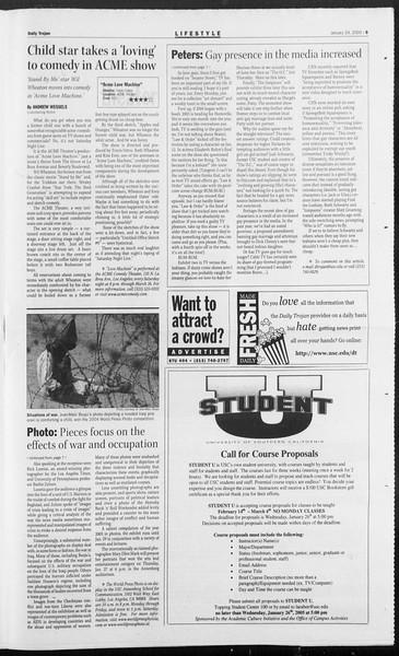 Daily Trojan, Vol. 154, No. 8, January 24, 2005