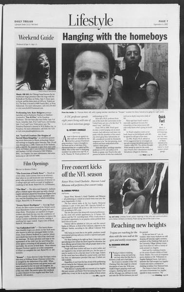 Daily Trojan, Vol. 156, No. 12, September 08, 2005