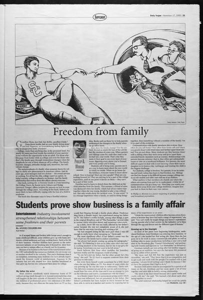 Daily Trojan, Vol. 138, No. 55, November 17, 1999