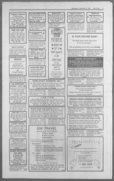Daily Trojan, Vol. 113, No. 2, September 05, 1990