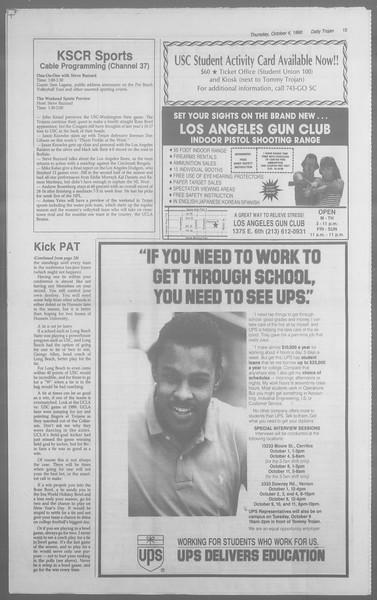 Daily Trojan, Vol. 113, No. 23, October 04, 1990