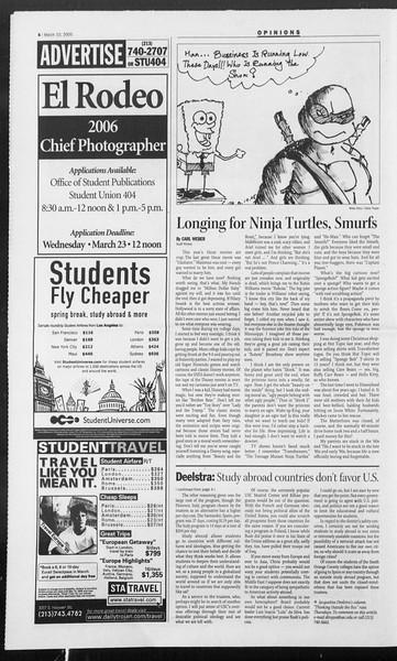 Daily Trojan, Vol. 154, No. 39, March 10, 2005