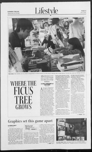 Summer Trojan, Vol. 155, No. 6, June 22, 2005