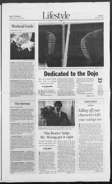 Daily Trojan, Vol. 156, No. 9, September 01, 2005