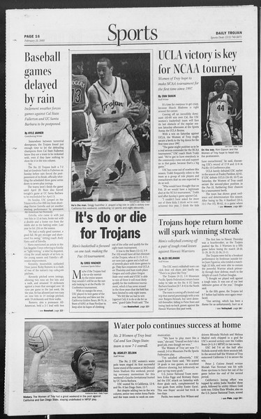 Daily Trojan, Vol. 154, No. 28, February 23, 2005