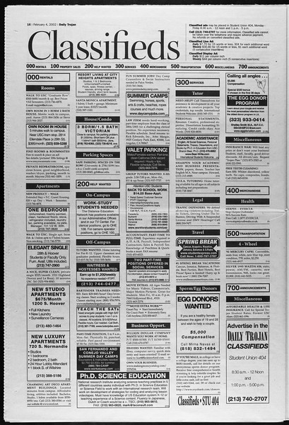 Daily Trojan, Vol. 145, No. 18, February 04, 2002