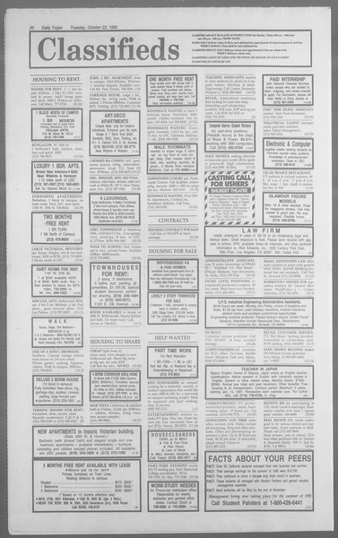 Daily Trojan, Vol. 113, No. 35, October 23, 1990