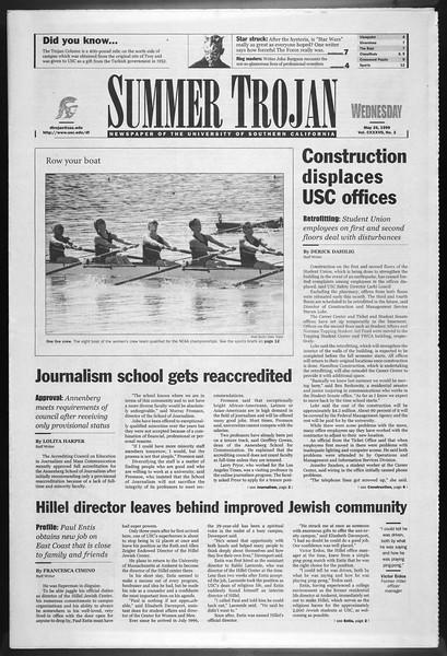 Summer Trojan, Vol. 137, No. 2, May 26, 1999