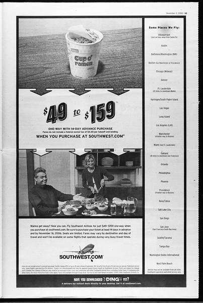 Daily Trojan, Vol. 159, No. 52, November 02, 2006