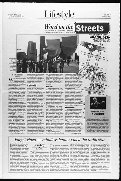 Daily Trojan, Vol. 159, No. 36, October 11, 2006