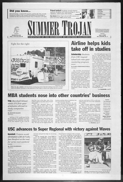 Summer Trojan, Vol. 138, No. 3, June 02, 1999