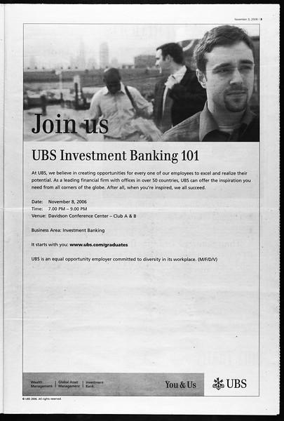Daily Trojan, Vol. 159, No. 53, November 03, 2006
