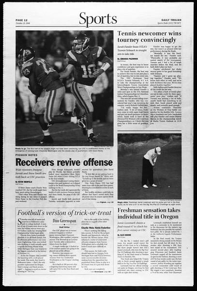 Daily Trojan, Vol. 159, No. 46, October 25, 2006