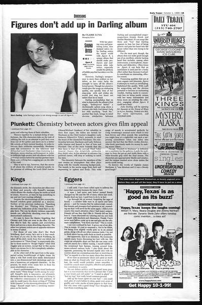 Daily Trojan, Vol. 138, No. 23, October 01, 1999