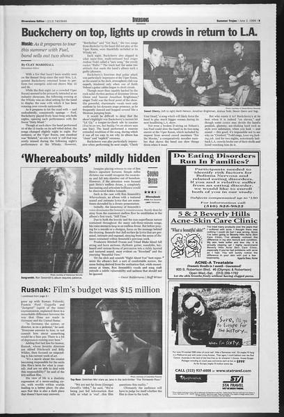 Summer Trojan, Vol. 138, No. 3, June 02, 1999