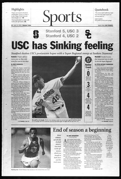Summer Trojan, Vol. 146, No. 5, June 12, 2002