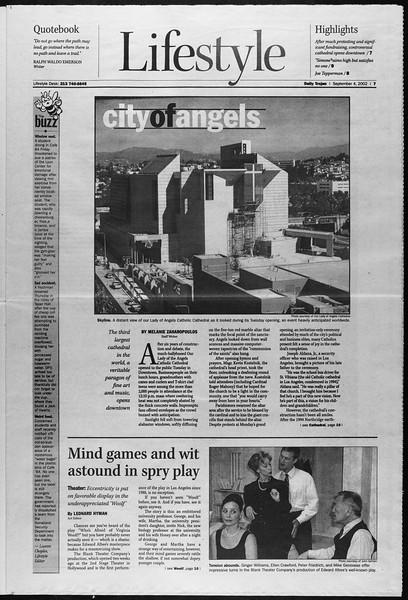 Daily Trojan, Vol. 147, No. 6, September 04, 2002