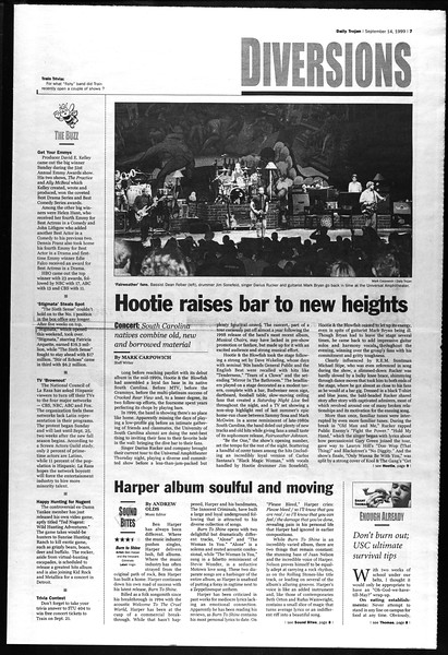 Daily Trojan, Vol. 138, No. 10, September 14, 1999