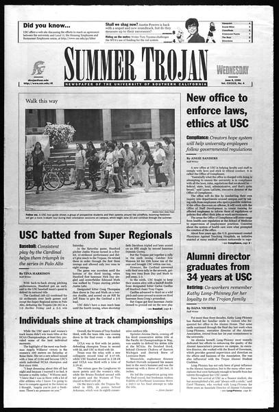 Summer Trojan, Vol. 139, No. 4, June 09, 1999