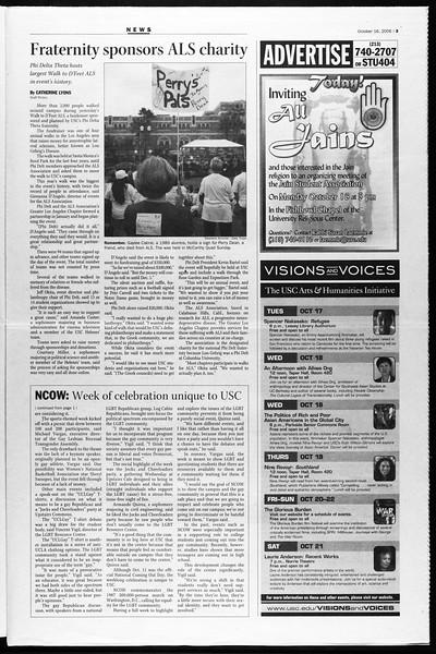 Daily Trojan, Vol. 159, No. 39, October 16, 2006