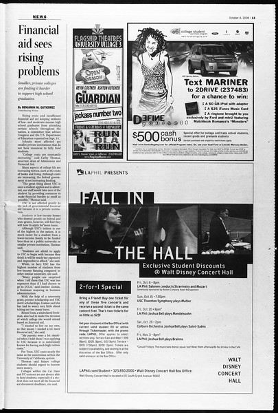 Daily Trojan, Vol. 159, No. 31, October 04, 2006