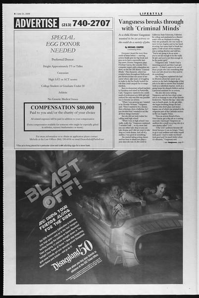 Summer Trojan, Vol. 158, No. 6, June 21, 2006