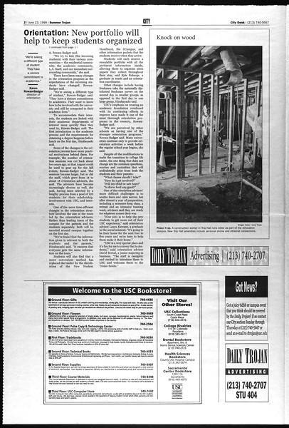 Summer Trojan, Vol. 141, No. 6, June 23, 1999