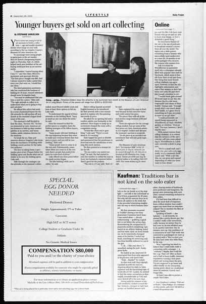 Daily Trojan, Vol. 159, No. 25, September 26, 2006